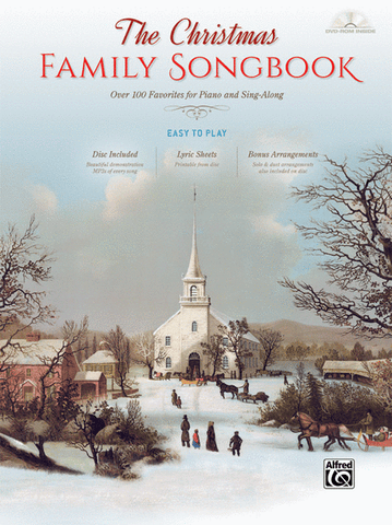 The Christmas Family Songbook (Hardcover)