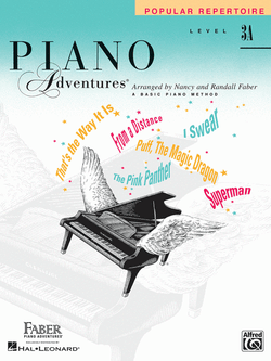 Piano Adventures - Popular Repertoire Book, Level 3A