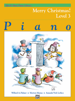 Alfred's Basic Piano Library Piano - Merry CHristmas! Level 3