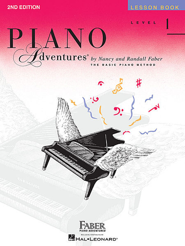 Piano Adventures - Lesson Book, Level 1
