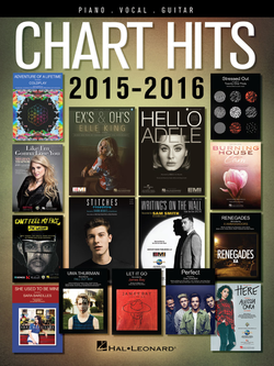 Chart Hits of 2015-2016 (Piano/Vocal/Guitar) - Canada