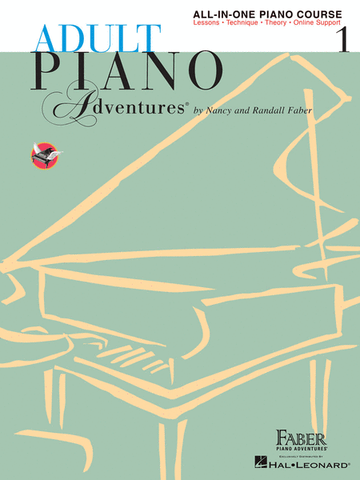 Adult Piano Adventures - All-In-One Lesson Book, Level 1