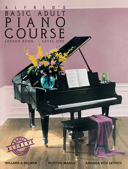 Alfred's Basic Adult Piano Course - Lesson Book, Level 1