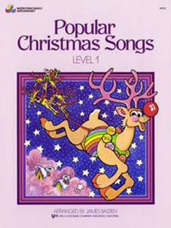 Bastien's Popular Christmas Songs - Level 1