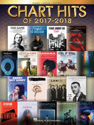Chart Hits of 2017-2018 (Easy Piano, PVG & Big Note Piano)