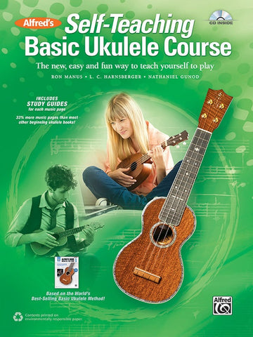 Alfred's Self-Teaching Basic Ukulele Method