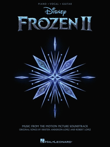 Frozen 2 Piano/Vocal/Guitar Songbook - PVG - Music from the Motion Picture Soundtrack