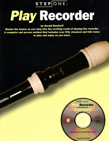 Step One: Play Recorder (w/CD) - Canada