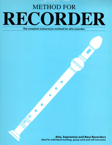 Mario Duschenes - Method For Recorder - Alto, Volume 1 - Canada