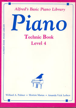 Alfred's Basic Piano Course - Technic Book, Level 4 - Canada