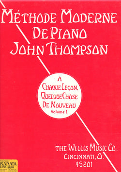 Methode Moderne De Piano John Thompson - Volume 1 - Canada