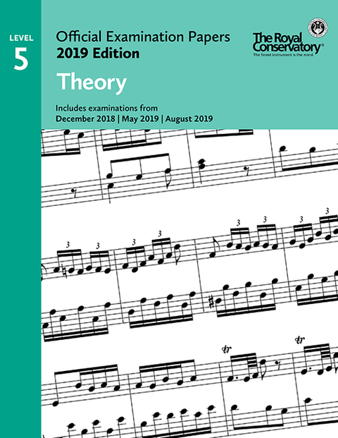 RCM Official Examination Papers: Theory, Level 5 - 2019 Edition