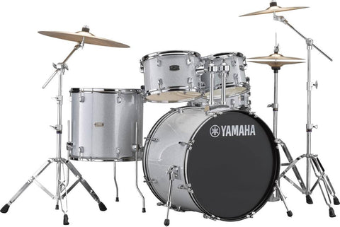 Yamaha Rydeen 5-Pc Drum Kit w/Hardware - Silver Glitter