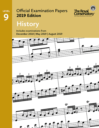 RCM Official Examination Papers: History, Level 9 - 2019 Edition - Book
