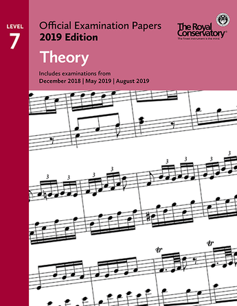 RCM Official Examination Papers: Theory, Level 7 - 2019 Edition - Book