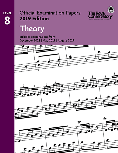 RCM Official Examination Papers: Theory, Level 8 - 2019 Edition - Book