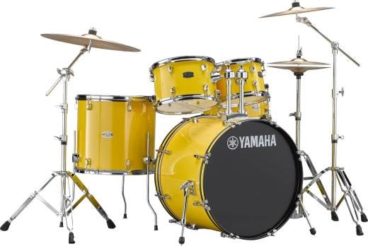 Yamaha Rydeen 5-Pc Drum Set w/Hardware - Mellow Yellow