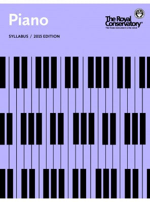 RCM Piano Syllabus - 2015 Edition - Canada