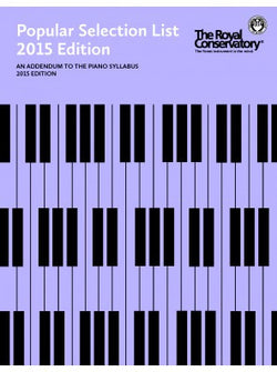 RCM Popular Selection List - 2015 Edition - Canada