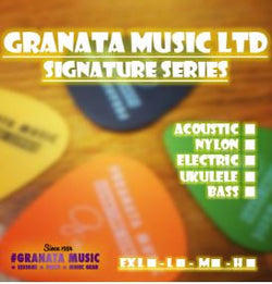 Granata Music Signature Series - Acoustic, Classical and Electric Guitar Strings (12-53)