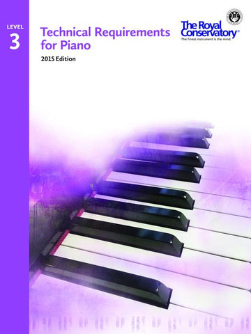 RCM Technical Requirements for Piano - Level 3