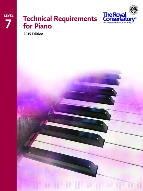 RCM Technical Requirements for Piano - Level 7