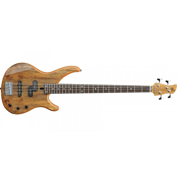 Yamaha TRBX174EW Exotic Wood 4-String Bass - Natural