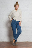 women respected clothes eco natural slow fashion sustainable linen shirt