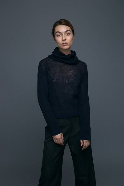 Turtleneck | Midnight Blue