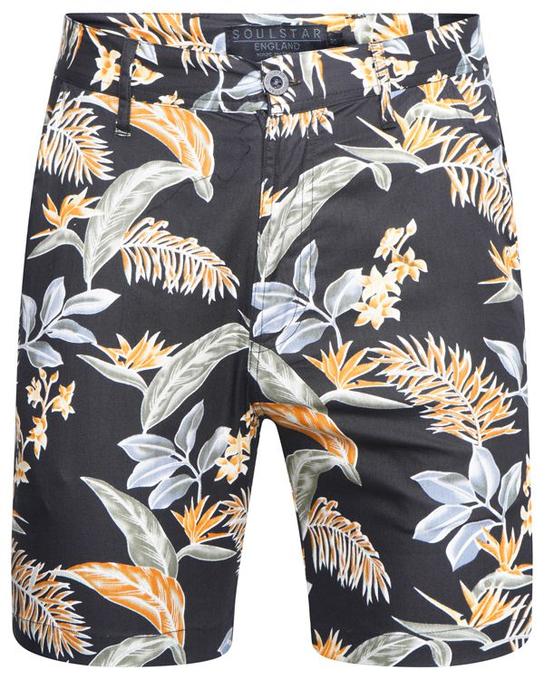 Hawaiian Shorts Black