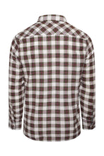 Load image into Gallery viewer, Flannel Tartan Shirt White
