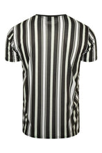 Load image into Gallery viewer, Signature Stripe T-Shirt Mint Black
