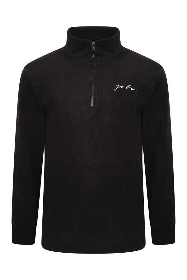 Signature Polar Fleece Black