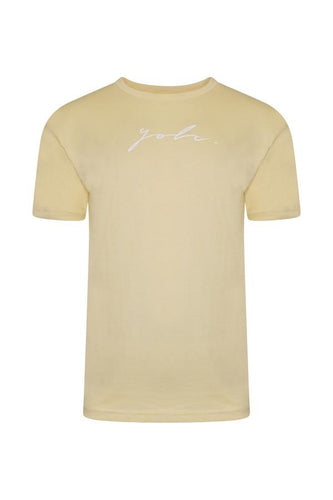 Signature T-Shirt Lemon
