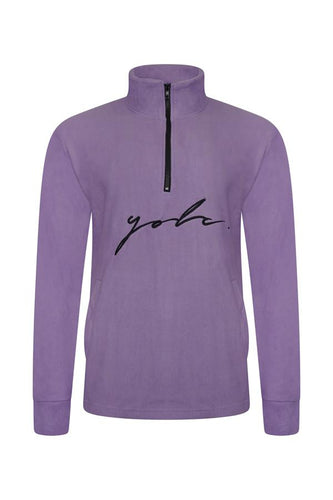 Polar Fleece Signature Lilac