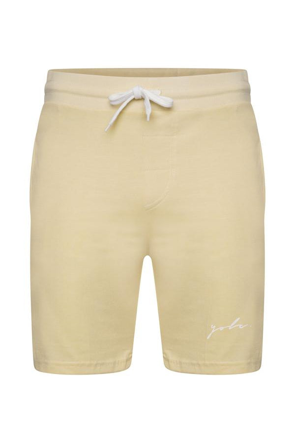 Signature Jersey Shorts Lemon