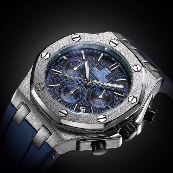 Bolt Automatic Watch Blue