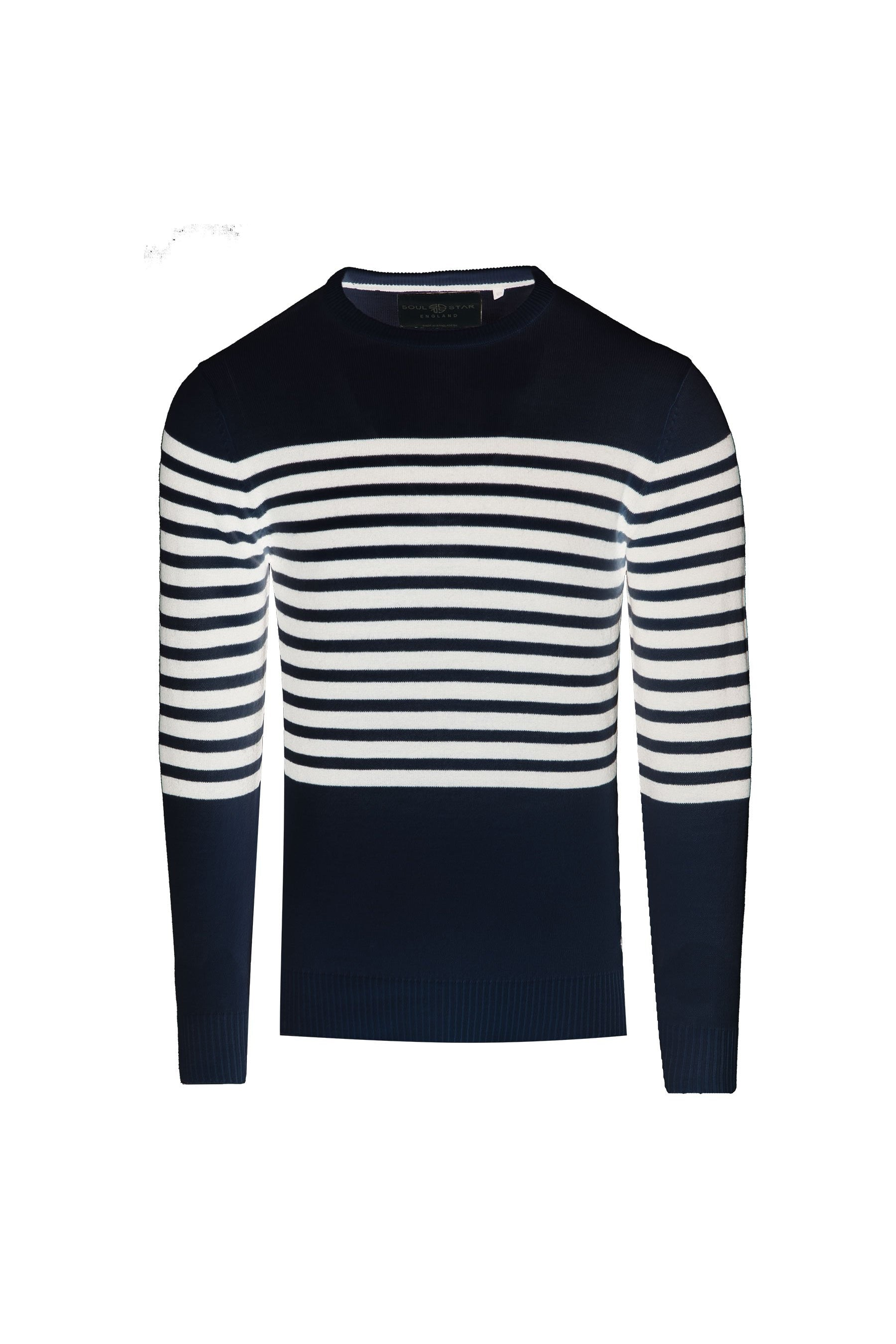 Stripe Knit Navy