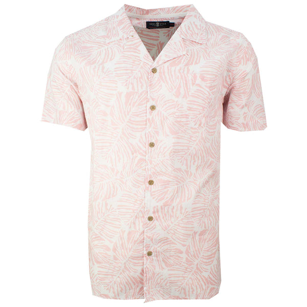Hawaiian Holiday Shirt Pink