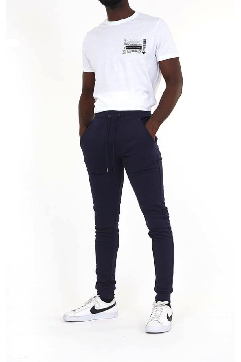Skinny Fit Joggers Navy