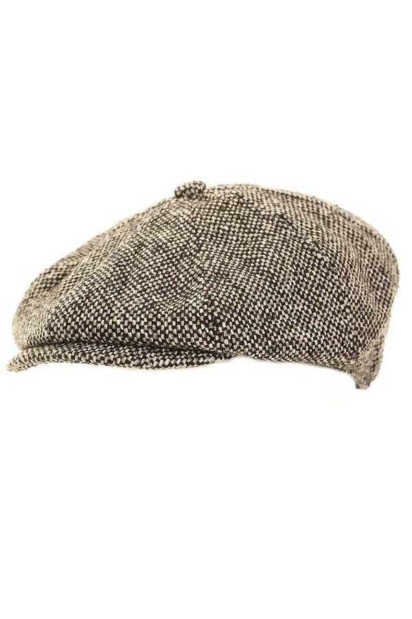 df3c7f0e Shelby Newsboy Cap Grey – Young Outlaws Club.