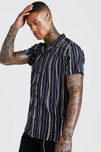 Chain Short Sleeve Shirt