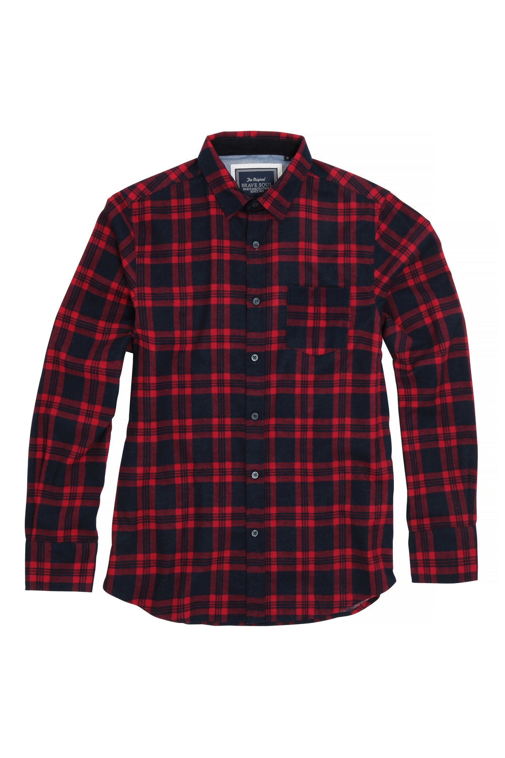 Check Shirt Red/ Navy