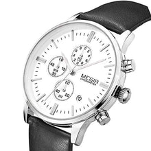 Load image into Gallery viewer, Classic Chrono Watch Silver