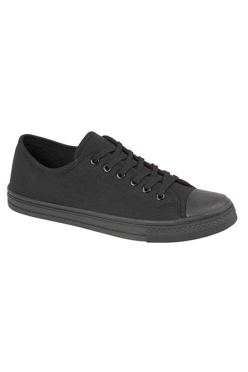 Footwear - Boston Casual Pumps All Black