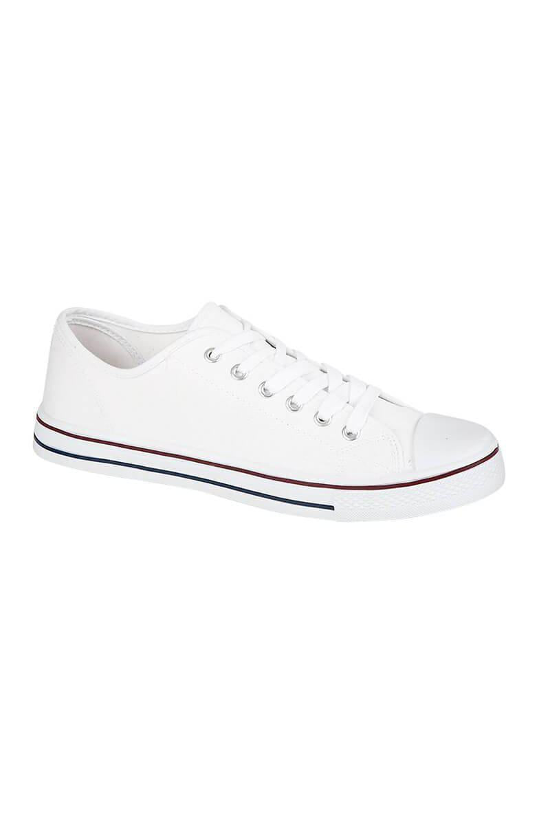Footwear - Boston Casual Pumps White