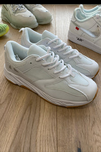 Footwear - Chunky Trainers All White