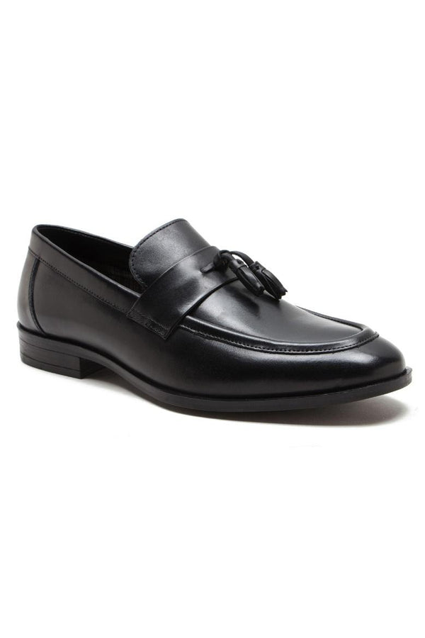 Footwear - Lumley Leather Loafers Black