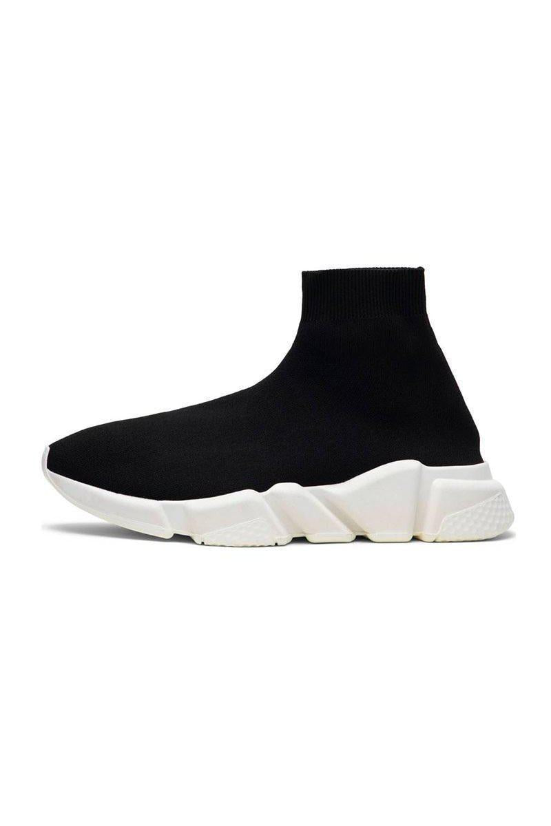 Footwear - Sock Trainers Black