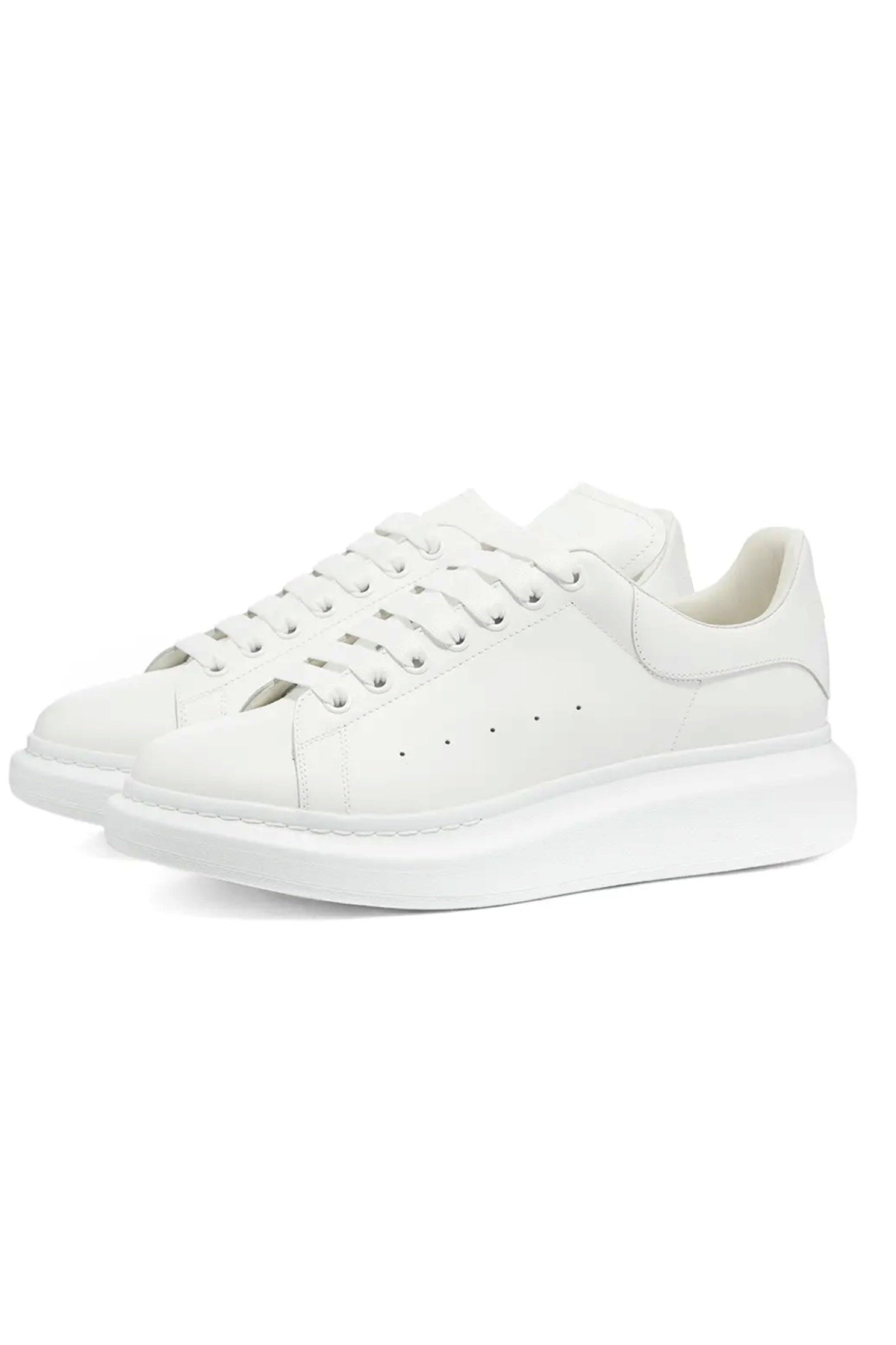 Footwear - Thick Sole Trainers White/ White